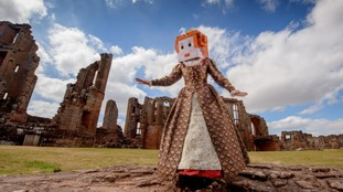 Kenilworth Castle in Warwickshire is being recreated via Minecraft.