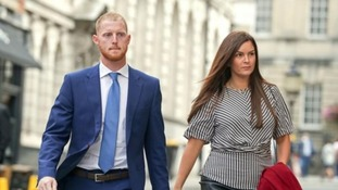 Ben Stokes and wife Clare Ratcliffe