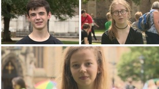 Charities take over College Green to help teenagers de-stress