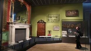 There are 300 exhibits in the free-to-enter Scottish Design Galleries.