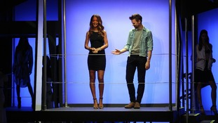 Rihanna launched her new collections at London's famous fashion event.