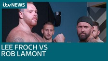 Lee Froch, the brother of multiple world champion Carl Froch, is preparing to take on Rob 'Big Red' Lamont.