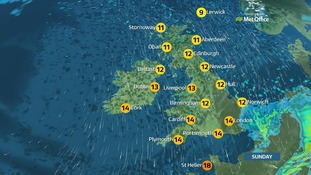 Wet weather expected for the remainder of the weekend for most but some might enjoy sunny spells
