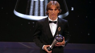 Luka Modric beats Cristiano Ronaldo and Mohamed Salah to be named FIFA Men's Player of the Year