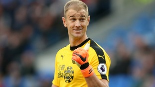 Burnley's Dyche praises Hart for rising to new challenge