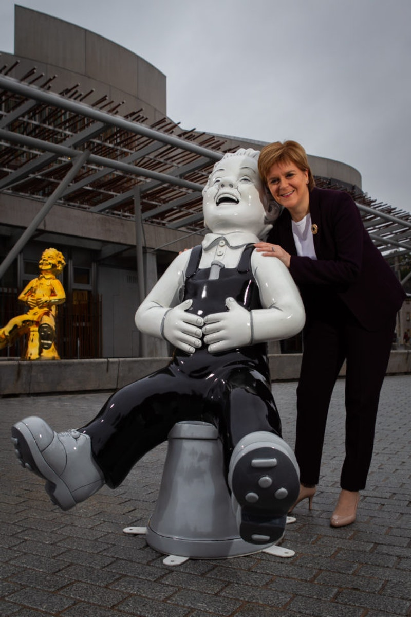 Oor Wullie to take his bucket around Scotland for charity ...