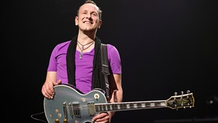 Def Leppard's Vivian Campbell, who is an ambassador for the NI Hospice