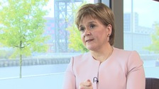 Timing of another independence referendum is dependent on the details of the Brexit deal negotiated by the PM, according to Ms Sturgeon.