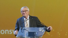 Jean-Claude Juncker dances