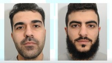 Andy Star, 32, from Chesterfield, and Farhad Salah, 23, from Sheffield,   were both arrested during early morning raids in December last year.