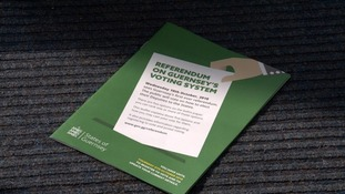 Referendum on Guernsey's voting system leaflet