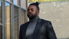 Former JLS star Oritse Williams appeared in court charged with rape.