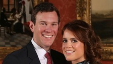 What's happening when at Princess Eugenie and Jack Brooksbank's royal wedding?