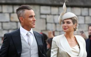 Robbie Williams and Ayda Field also attended the wedding.