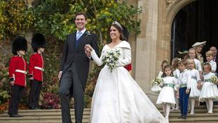 Princess Eugenie and Jack Brooksbank begin first day as married couple after lavish ceremony