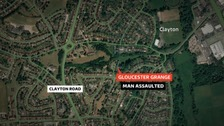 Armed police were called to Glouster Grange in Newcastle-under-Lyme just before 5am this morning (Sunday 14 October).