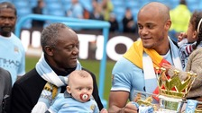 Vincent Kompany's father elected Belgium's first black mayor