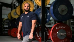 British power lifter Ali Jawad is leading the group.
