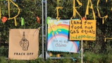 The last stand - anti fracking protestors say they'll fight on