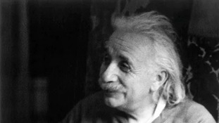 This picture of Albert Einstein was Marilyn Stafford's first photography job.
