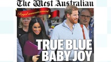 Papers in UK and Australia react to royal baby news