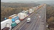 Essex stretch of M25 closed after serious crash