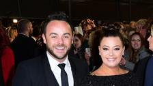 Ant McPartlin and his former wife Lisa.
