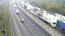 Essex stretch of M25 re-opened after serious crash.
