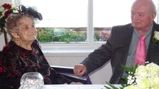 Wedding of the century as 100-year-old ties the knot