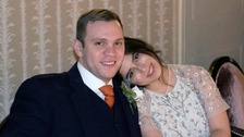 University student Matthew Hedges and wife Daniela Tejada