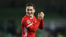Wales beat Republic of Ireland to move top of Nations League group