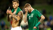 Ireland were beaten 1-0 in Dublin on Tuesday evening.