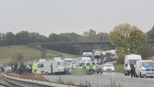 M40 crash referred to the police watchdog