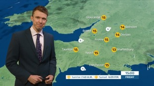 Weather Forecast: a dry day in the West