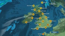 A foggy start in places but a fine and sunny day for most