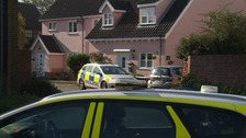 The couple were found in a home in Aldeburgh.