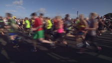 Thousands get set for the Great South Run