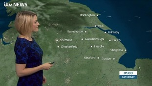 The late weather forecast with Kerrie Gosney
