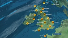 Fog clearing in the morning, a dry and sunny day for many