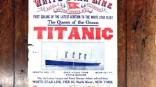 Titanic poster to be sold at auction in Wiltshire