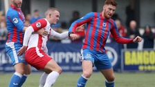 Ards shock Linfield in Saturday's league action