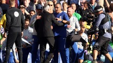 Jose Mourinho in scuffle on return to Stamford Bridge