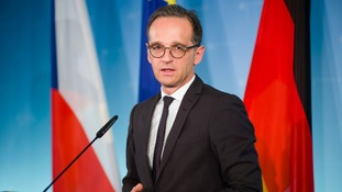 German Foreign Minister Heiko Maas has called Mr Trump's move 'regrettable'.