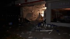 Post office destroyed in early morning explosion