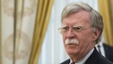 US national security adviser John Bolton will meet with President Putin.