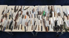 733 knives handed in during Thames Valley crackdown