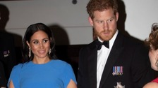 Meghan and Harry attend black tie state dinner in Fiji
