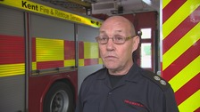 UK's Longest serving firefighter retires