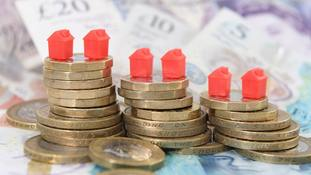 House prices in England's market towns have increased by £915 per month on average over the past five years, Halifax has found.