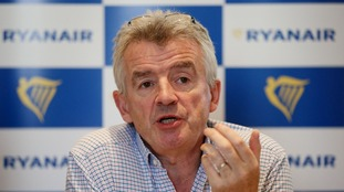 The resolutions will call for current chief executive Michael O'Leary to take over as chairman